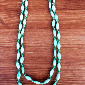 Mint Mother-of-Pearl Necklace