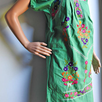 Mexican fiesta dress for women, Women green mexican dress, cinco de mayo dress attire, women mexicand dress, mexican bridesmaids dresses