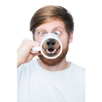 Nose Mug Doggy Style Dog
