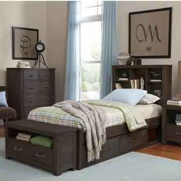 Nielsen Twin Size Bookcase Bed
