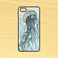 Jellyfish Art Phone Case iPhone 4 / 4s / 5 / 5s / 5c /6 / 6s /6+ Apple Samsung Galaxy S3 / S4 / S5 / S6