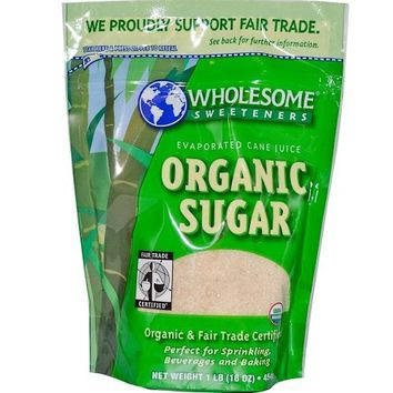 Wholesome Sweeteners Fair Trade Evap Cane Sugar (6x64 Oz)