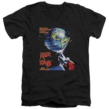 Killer Klowns From Outer Space - Invaders Short Sleeve Adult V Neck