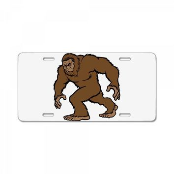 bigfoot License Plate