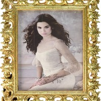 Giftgarden Gold Vintage Picture Frame 8 by 10 -Inch Home Decor for Photo 8x10
