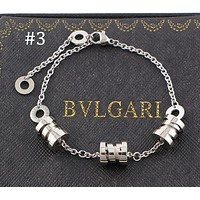 BULGARI B.ZERO1 Series Triple Spiral Three-ring Spring Bracelet Couple Jewelry Accessories F-HLYS-SP #3