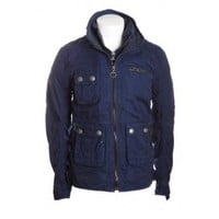 Superdry mens wax pit jacket in imperial navy blue: Amazon.co.uk: Clothing