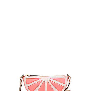 Kate Spade New York Flights of Fancy Grapefruit Crossbody