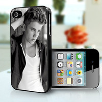 Justin Bieber Black and White- iPhone 4, iPhone 4s case