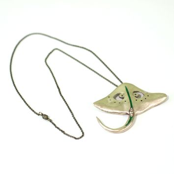 Bronze Sting Ray // Perfect Gift for Scuba Diver