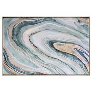 "Agate Framed High Gloss Canvas 36""x24"" - Threshold™"