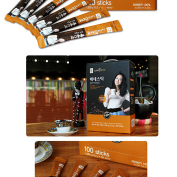[Caffe Bene] Instant Bene Stick Pure Mild 100T  with free Shipping
