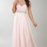 Floor Length Elegant Dave and Johnny Prom Dress