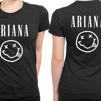 Ariana (Ariana Grande) 2 Sided Womens T Shirt