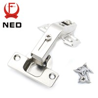 NED 135 Degree Corner Fold Cabinet Door Hinges 135 Angle Hinge Furniture Hardware For Home Kitchen Bathroom Cupboard With Screw