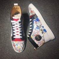 Cl Christian Louboutin Style #2112 Sneakers Fashion Shoes