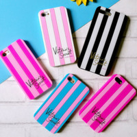 Victora's Secret Pink iPhone8 mobile phone shell lovers shell hard shell