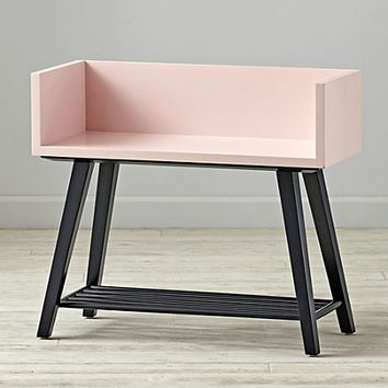 Alto Bookcase (Pink/Midnight Blue)