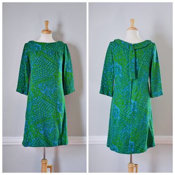 60s Leslie Fay Originals Sheath Dress