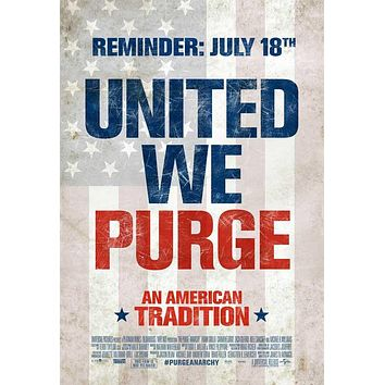 The Purge: Anarchy 11x17 Movie Poster (2014)