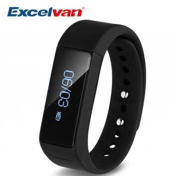 2017 Excelvan i5 Plus Waterproof Smart Bracelet With Fitness Moniter Bluetooth For Women and Men Compatible With IOS Android