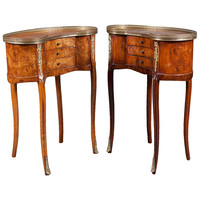 Antique Louis XV Kidney Tables