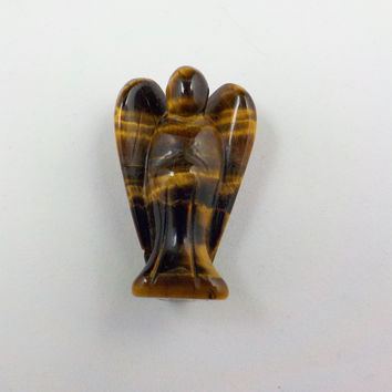 Tiger Eye Pocket Angel