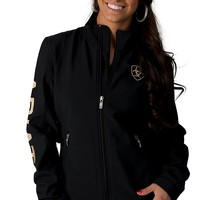 Ariat Women's Black Team Softshell Jacket