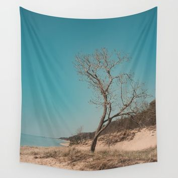 Stand Alone Wall Tapestry by Faded  Photos