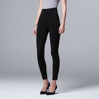 Women's Simply Vera Vera Wang High-Waisted Shaping Leggings | null