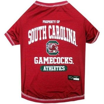 auguau South Carolina Gamecocks Pet Tee Shirt
