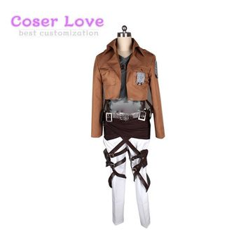 Cool Attack on Titan  3 Reiner Braun/ Armored / Ymir cosplay Costume Halloween Christmas Costume AT_90_11