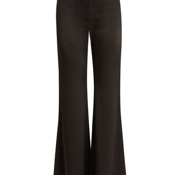 High-rise wide-leg satin trousers | Galvan | MATCHESFASHION.COM UK