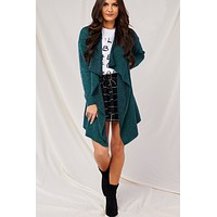 How We Love Oversized Cardigan (Hunter Green)