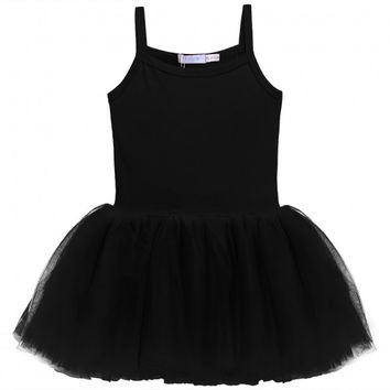 New Kids Girl Elegant Dance Dress Ballet Dress Bodysuit Dress