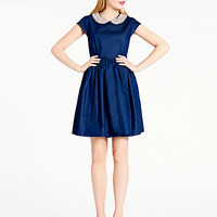 Kate Spade Denim Kimberly Dress Darkblue