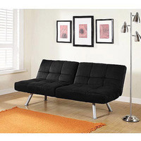 Walmart: Mainstays Contempo Futon Sofa Bed, Multiple Colors