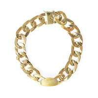 Heavy Curb Chain Necklace