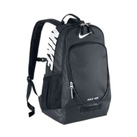 Nike Team Training Max Air Large Backpack Backpack Black/Black/White Multi Snake One Size