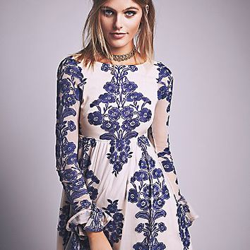 For Love & Lemons Womens Temecula Mini Dress