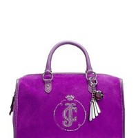 Amazon.com: Juicy Couture YHRU3063 Satchel,Dark Orchid,One Size: Shoes