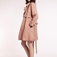 Charlie Pink Trench by Dahlia