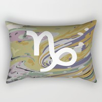 Capricorn Rectangular Pillow by KJ Designs
