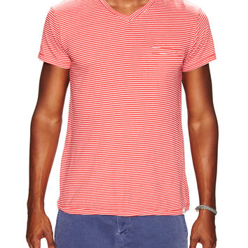 Stripe Welt T-Shirt