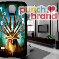 Princess Mononoke The Deer God Shishigami iPhone 4/4s/5/5c/5s Samsung Galaxy S3/S4/S5