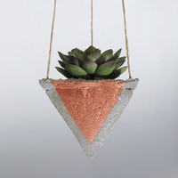 Air Planter, Hanging Planter, Concrete Planter, Succulent Planter, Mini Planter, Modern Planter, Geometric Planter, Indoor Planter, Bronze