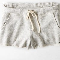 AEO Women's Fleece Short (Heather Grey)