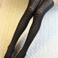 Harajuku Bind Cosplay Lolita Tights/Gothic Sexy Bind Tights For Girls/Fashion Pantyhose