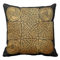 Celtic Knotwork Cross Pillows