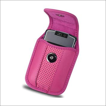 VERTICAL POUCH VP11A BLACKBERRY 8330 HOT PINK 4.3X2.4X0.6 INCHES: Case Of 120